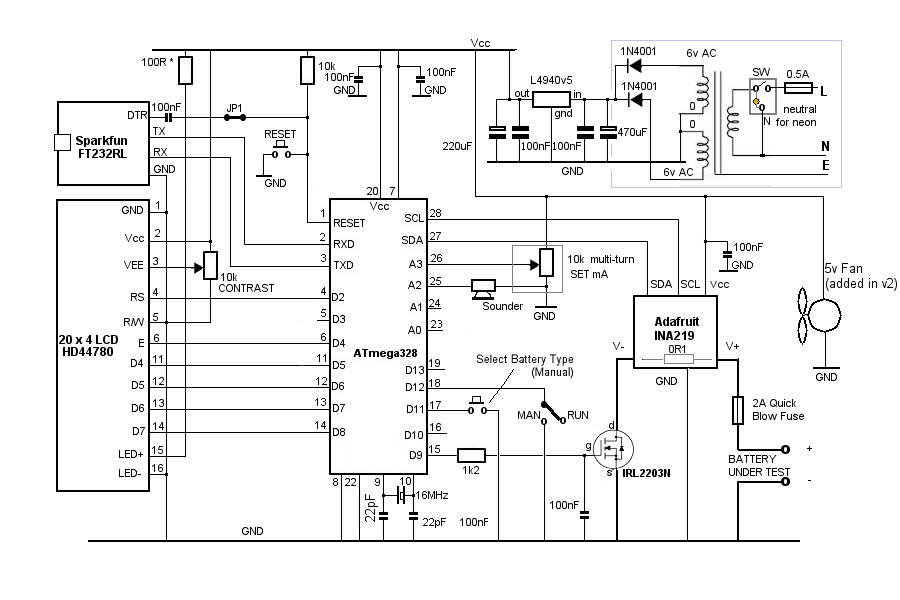 battery capacity tester schematic auto electrical wiring diagram u2022 rh 6weeks co uk