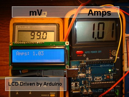 Measuring Current with the Arduino
