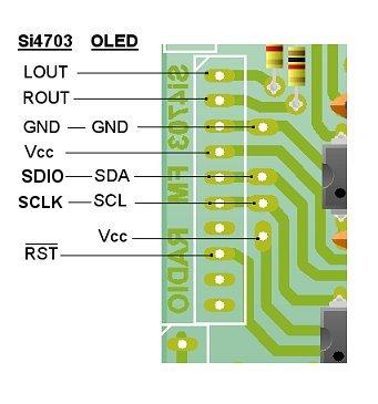 Arduino - Si4703 Pocket FM Radio