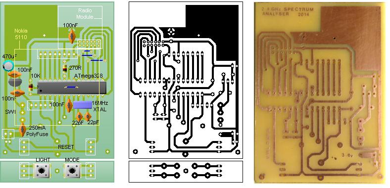 Arduino ghz spectrum analyser