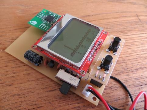 Arduino 2 4 GHz Spectrum Analyser