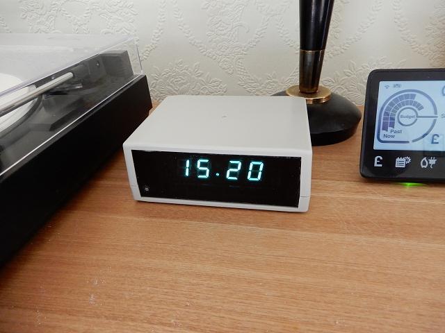 Vacuum Fluorescent Display Clock