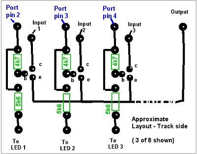 8 input video switchVideo Camera Switcher Circuit #7